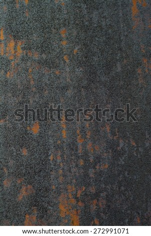 Metal Rust Texture Background Close-up or iron stain - stock photo