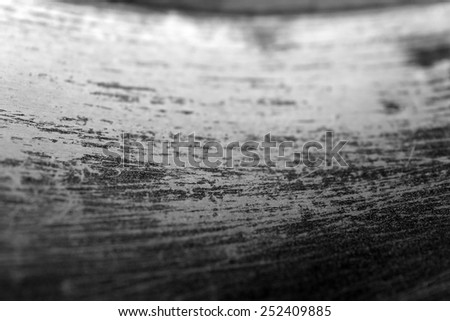 Metal scratched background - stock photo