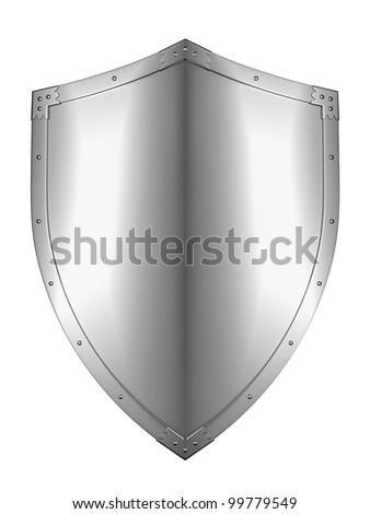 Metal Shield - stock photo