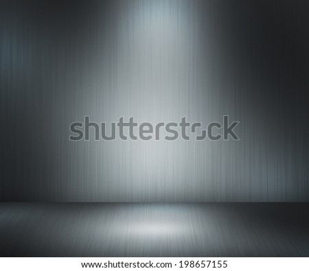 Metal Stage Backdrop - stock photo
