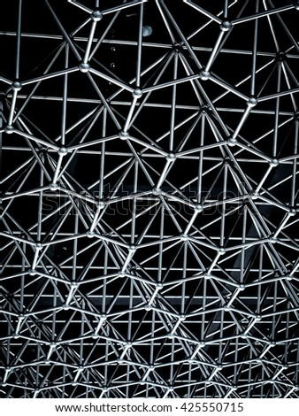 metal structure background