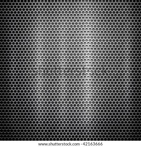 metal template background (silver pack) - stock photo