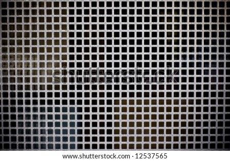 metal texture background with squares - stock photo