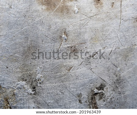 Metal texture scratched surface - stock photo