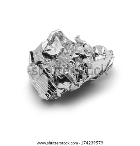 metal trash  - stock photo
