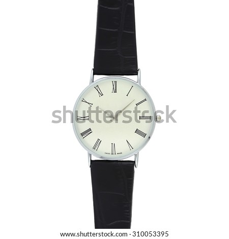 Metal Watch - stock photo