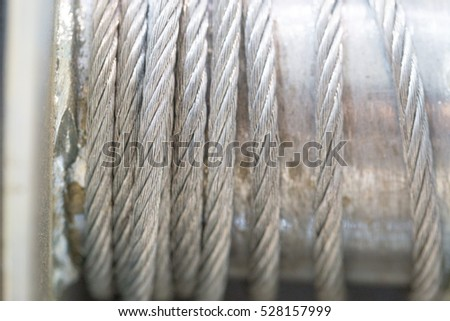Metal wire for use of pulling