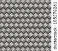 metal woven background - stock vector