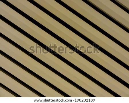 metal Yellow Stripe Pattern                                - stock photo