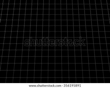 Metall grid - stock photo