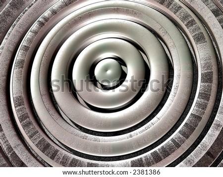 Metallic Background Texture - stock photo