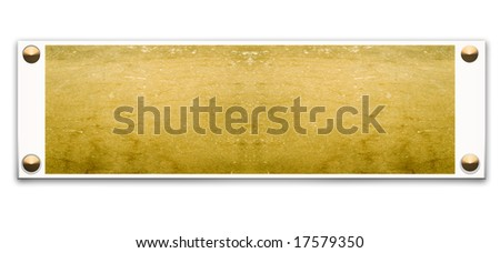 Metallic border frame with wood texture