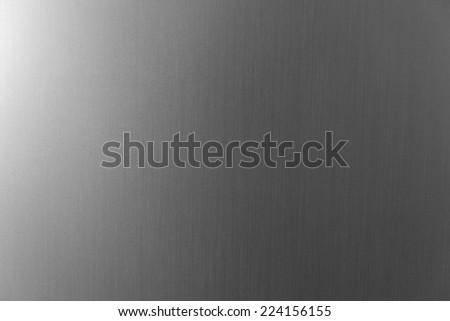 Metallic bushed texture - stock photo