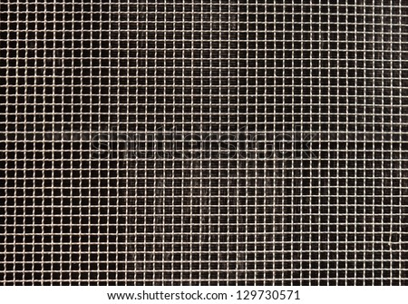 metallic grill cross wall wood texture background - stock photo
