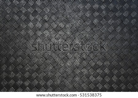 Metallic square pattern texture background. 3D rendering
