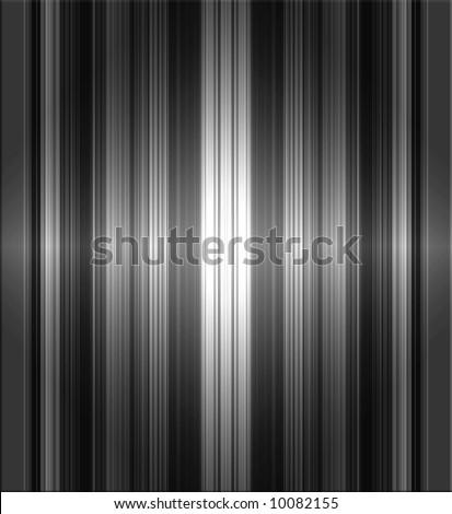 Metallic Stripes Background - stock photo