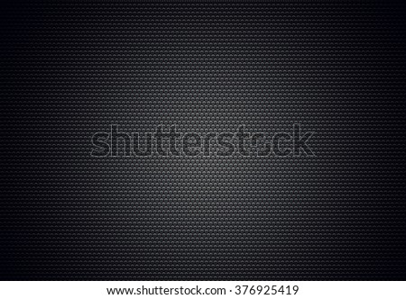 Metallic surface with hexagon shape for programming, planning, database, science, social media abstract background usage.