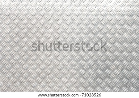 metallic texture belonging to some street furniture - stock photo