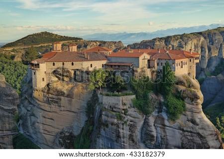 Meteora, Greece - stock photo