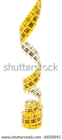 meter studio isolated over white