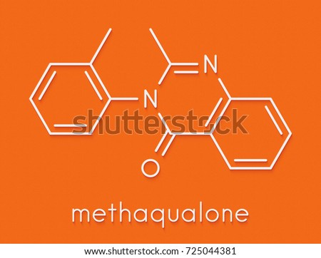 the hypnotic and sedative properties of the methaqualone