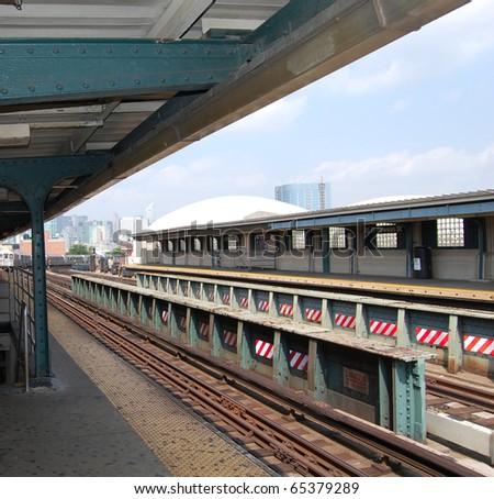 Metro in the U.S. city of New York - stock photo