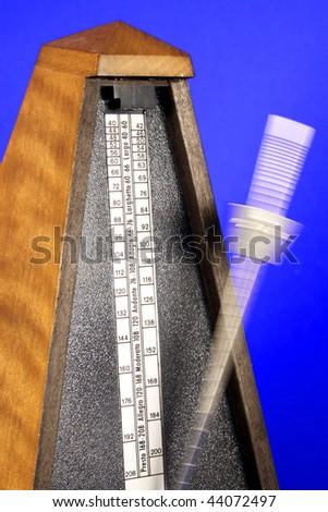 Metronome - stock photo