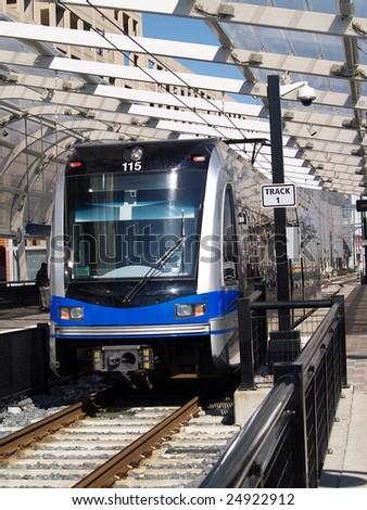 Metropolitan Train - stock photo