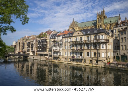 Metz in France - stock photo