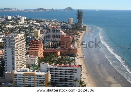 Mexican Beach - stock photo