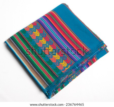 Mexican blanket - stock photo