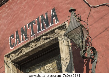 old cantina in mexico latin american teen great glance portrait young stock photo