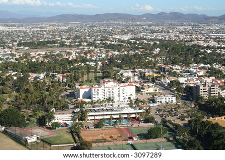Mexican City - stock photo