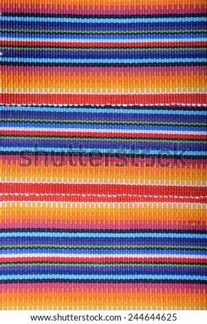 Mexican colorful texture