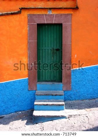 Mexican Door & Mexican Door Stock Photo 713749 - Shutterstock