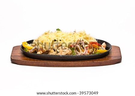 Mexican Fajita - stock photo