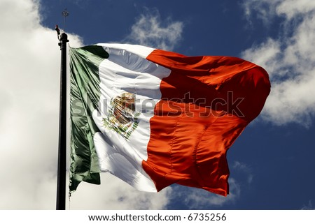 Mexican Flag, Independence day september 16