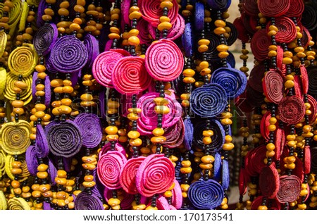 Mexican handcrafts - stock photo
