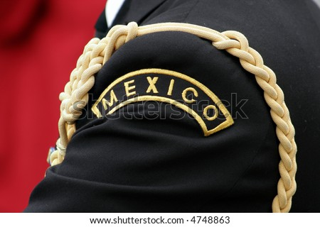 Mexican navy - stock photo