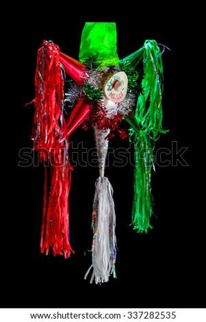 Mexican Pinata (Posadas) - stock photo