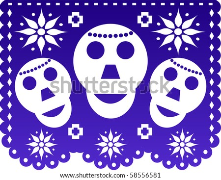 Mexican traditional decoration - stock photo