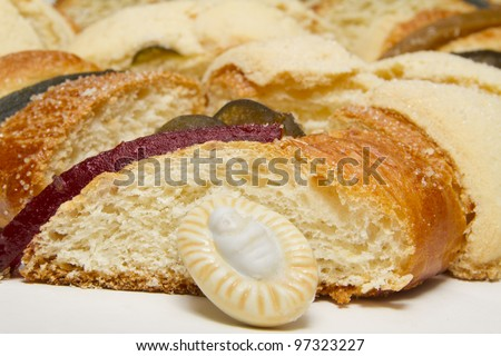 Mexican Traditional Three Kings Bread