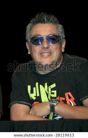 MEXICO CITY - APRIL 6: Mauricio Claveria attends Festival Music for the Earth Music Fest press conference and photo shoot at El Lunario Concert Hall April 6, 2009 in Mexico City, Mexico. - stock photo