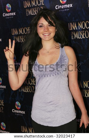 "MEXICO CITY, MEXICO-JUNE 9 : TV Personality Mariana Solleiro attends the ""Night at the Museum 2: Battle of the Smithsonian"" Mexico City Red Carpet Premier. Mexico. June 9 2009"
