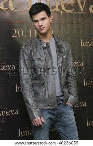 "MEXICO CITY-NOV 3: Actor Taylor Laughter attends the premiere for  ""The Twilight saga: New Moon"" Photo Call at 4 Seasons Hotel Mexico in November 3th 2009; Mexico City, Mexico. - stock photo"