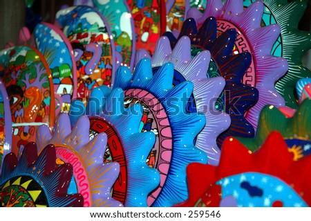 Mexico decorations - stock photo