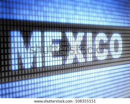 Mexico.  Full collection of icons like that is in my portfolio