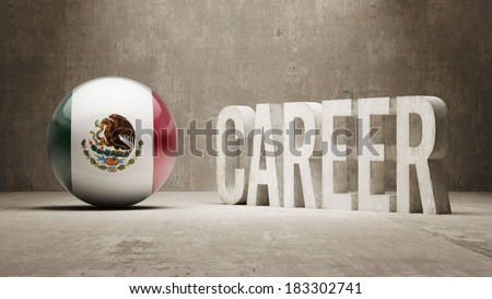 Mexico High Resolution Career  Concept