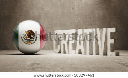 Mexico High Resolution Creative Concept
