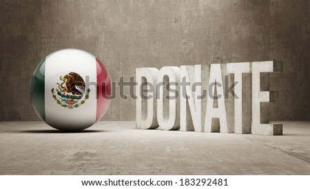 Mexico High Resolution Donate  Concept
